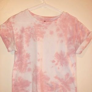Light Pink Tie Dye Shirt
